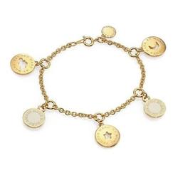 Marc by Marc Jacobs  - Cutout Cosmic Coins Charm Bracelet