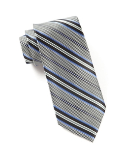 The Tie Bar - Woven Silk Patterned Tie