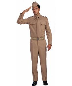 Cool Glow - World War II Private Adult Costume