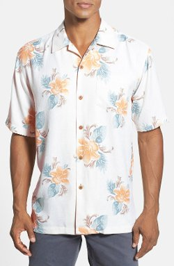 Tommy Bahama - Breezy Blooms Original Fit Silk Campshirt
