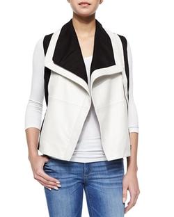 Bagatelle   - Colorblock Asymmetric Vest
