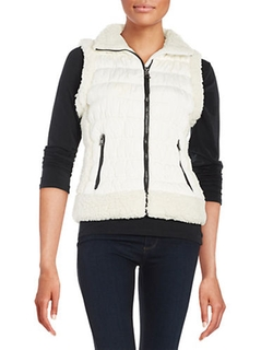 Calvin Klein Performance  - Fleece-Lined Puffer Vest