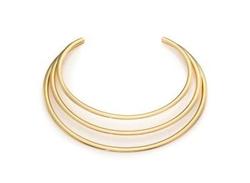 Kenneth Jay Lane - Three-Band Collar Necklace