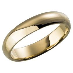 Target - Plain Wedding Band Gold Plated Ring