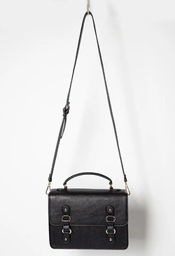 Forever 21 - Faux Leather Messenger Bag