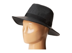Bcbgeneration - Pleather & Flannel Panama Hat