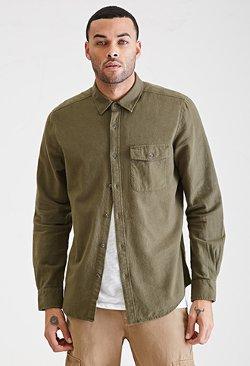 Forever21 - Flannel Pocket Shirt