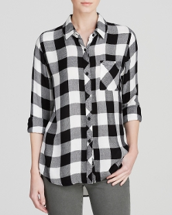 Rails - Hunter Check Shirt