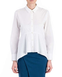 Zac Zac Posen - Dyna Cotton Long-Sleeve Blouse
