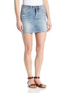 Silver Jeans Co. - Juniors Francy Mid Mini Skirt