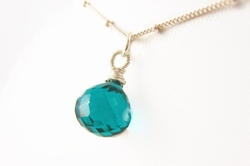 Sienna Grace Jewelry - Wrapped Handmade Necklace