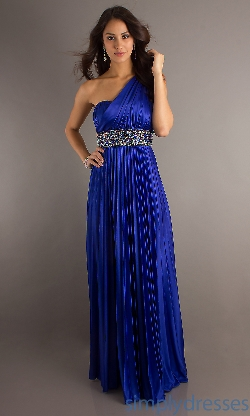 Xoxo - Long Blue Prom Dress