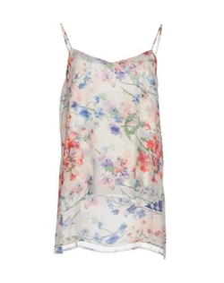 Theory - Floral Silk Top