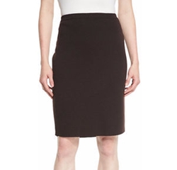 Eileen Fisher - Wool Crepe Pencil Skirt