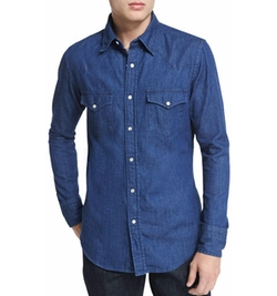 Tom Ford - Western-Style Denim Shirt