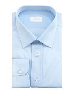 Brioni  - Barrel-Cuff Dress Shirt