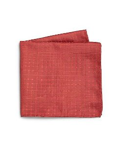Armani Collezioni - Abstract Print Silk Pocket Square