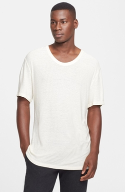 T by Alexander Wang - Slub Scoop Neck T-Shirt