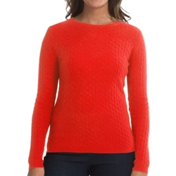 In Cashmere  - Cabled-Knit Sweater
