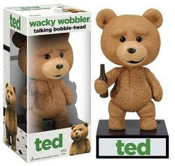 Funko  - Talking Ted Wacky Wobbler Bobble Head