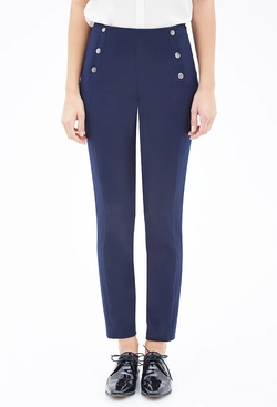 Forever 21 - Tuxedo-Striped Sailor Trousers