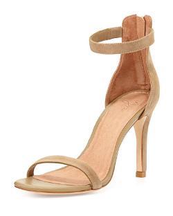 Joie  - Abbott Suede Naked Sandal