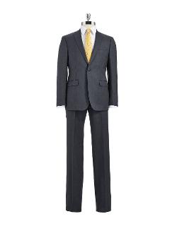 CALVIN KLEIN - Slim Fit Two-Piece Wool Suit Set