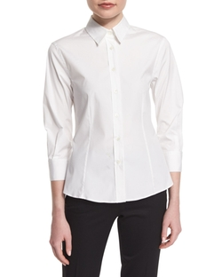 Carolina Herrera - Basic Button-Front Shirt