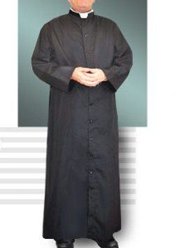 Abbey - Brand 216U Black Cassock