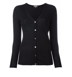 N.Peal - Superfine V-Neck Cardigan