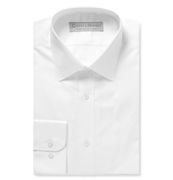 Gieves & Hawkes   - Cotton-Blend Poplin Shirt