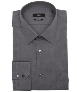Hugo Boss - Cotton Point Collar Dress Shirt
