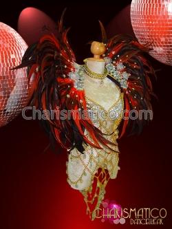 Charismatico - Cabaret Styled Feathered Collar