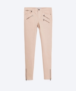 Zara - Mid-Rise Power Stretch Trousers
