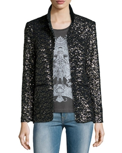 Zadig & Voltaire - Volly Sequin Deluxe Jacket