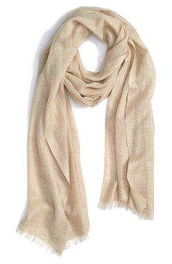 Nordstrom  - Tissue Weight Wool & Cashmere Wrap
