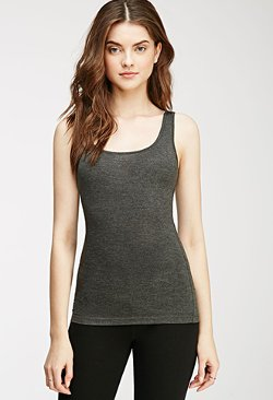 Forever21 - Stretch-Knit Tank Top