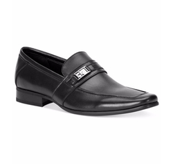 Calvin Klein - Bartley Bit Textured Loafers