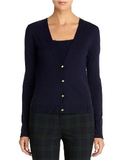 Anne Klein  - V-Neck Cardigan