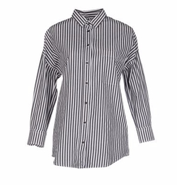 ..,Merci - Stripe Button Shirt