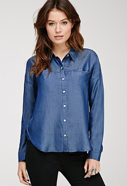Forever 21 - Classic Chambray Shirt