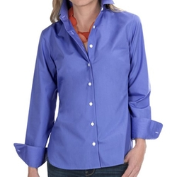 Broadcloth Shirt  - Wrinkle Resistant Long Sleeve Shirt