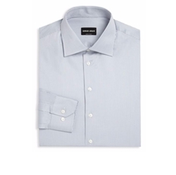 Giorgio Armani - Striped Regular-Fit Dress Shirt