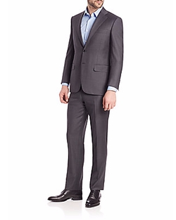 Canali - Wool Two Button-Front Suit
