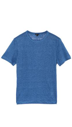 Theory  - Andrion Linen T-Shirt