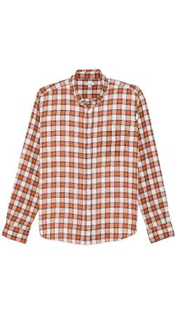 Steven Alan  - Plaid Classic Collegiate Shirt