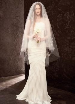Exquisite  - 2 Tier Bridal Wedding Veil with Comb