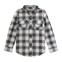 Joe Fresh - Kid Girls' Plaid Button Down Shirt