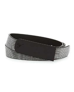 Giuseppe Zanotti - Studded Leather Belt