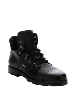 Fendi - Calfskin Lug Sole Work Boots
